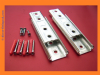 SUPERIOR 120mm Headboard brackets Concealed wall/Panel fixing/Fitting KIT W/screws 1-10 packs
